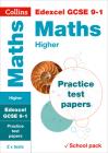 Collins GCSE 9-1 Revision – Edexcel GCSE Maths Higher Practice Test Papers Cover Image