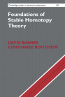 Foundations of Stable Homotopy Theory Cover Image
