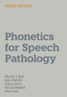 Phonetics for Speech Pathology Cover Image