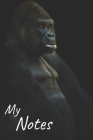 My notes: Gorilla Notebook, Monkey - Size 6