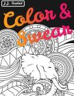 Color & Swear (Blackout): A Swear Word Coloring Book for Adults Cover Image