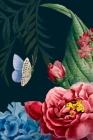 Butterfly: Discreet Password Logbook - Login Credentials Organizer - Alphabetized Internet Log Book Cover Image