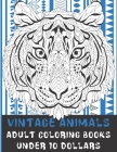 Adult Coloring Books Vintage Animals - Under 10 Dollars Cover Image