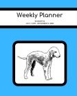 Weekly Planner: Bedlington Terrier; 18 months; July 1, 2019 - December 31, 2020; 8