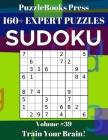 PuzzleBooks Press Sudoku 160+ Expert Puzzles Volume 39: Train Your Brain! Cover Image