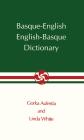 Basque-English, English-Basque Dictionary (The Basque Series) Cover Image