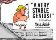 A Very Stable Genius: @realdonaldtrump Cover Image