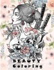 BEAUTY Coloring: 女の子の塗り絵,プリンセスぬり{ Cover Image