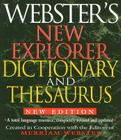 Webster's New Explorer Dictionary and Thesaurus Cover Image