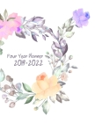 2019-2022 Four Year Planner: Daily Planner Four Year, Agenda Schedule Organizer Logbook and Journal Personal, 48 Months Calendar, 4 Year Appointmen Cover Image