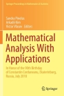 Mathematical Analysis with Applications: In Honor of the 90th Birthday of Constantin Corduneanu, Ekaterinburg, Russia, July 2018 (Springer Proceedings in Mathematics & Statistics #318) Cover Image