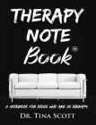 Therapy Note Book: A Notebook For Those Who Are In Therapy Cover Image