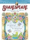 Creative Haven Shakespeare Dramatic & Droll Coloring Book (Creative Haven Coloring Books) Cover Image