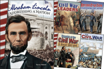 Civil War & Reconstruction Grades 4+: 5-Book Set (Primary Source Readers) Cover Image