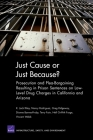 Just Cause or Just Because? Prosecution and Plea-Bargaining Resulting in Prison Sentences on Low-Level Drug Charges in California and Arizona Cover Image