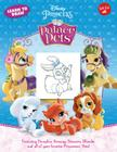 Learn to Draw Disney Princess Palace Pets: Featuring Pumpkin, Beauty, Treasure, Blondie and all of your favorite Princesses' Pets! (Licensed Learn to Draw) Cover Image