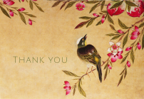 Peach Blossoms Thank You Notes Cover Image