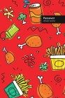 Passover Lifestyle Journal, Blank Write-in Notebook, Dotted Lines, Wide Ruled, Size (A5) 6 x 9 In (Red) Cover Image