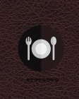 Reserved: BOOK RESERVATION FOR RESTAURANT, sized 8x10,120 pages,6 columns,20 entry Cover Image