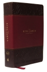 The King James Study Bible, Imitation Leather, Burgundy, Full-Color Edition Cover Image