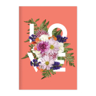 Say It With Flowers Love A5 Journal Cover Image