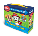 Paw Patrol Phonics Boxed Set (PAW Patrol): 12 Step into Reading Books Cover Image