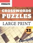 Crosswords Puzzles: Fungate Crosswords Easy large print crossword puzzle books for seniors - Classic Vol.33 Cover Image
