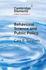 Behavioral Science and Public Policy Cover Image