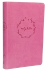 KJV, Deluxe Gift Bible, Imitation Leather, Pink, Red Letter Edition Cover Image