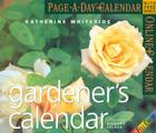 The Gardener's Page-A-Day Calendar 2005 Cover Image