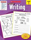 Scholastic Success With Writing: Grade 1 Workbook Cover Image
