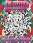Malbücher für Erwachsene - Pflanzen und Tiere - Tiere - Löwin Cover Image