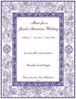 Music for a Jewish-American Wedding: For Solo Voice, Flute, Violin and Piano Cover Image