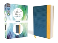 Niv, Giant Print Compact Bible for Boys, Leathersoft, Blue, Red Letter Edition, Comfort Print Cover Image