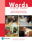 Words Their Way: Word Sorts for Letter Name - Alphabetic Spellers Cover Image