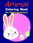 Animal Coloring Book for Kindergarteners: Christmas Coloring Pages with Animal, Creative Art Activities for Children, kids and Adults Cover Image