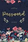 Internet Password Logbook: Alphabetical Internet Address & Password Record Book Cover Image
