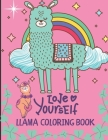 Llama Coloring Book: For Girls Ages 7-12 (Animal Coloring Books) Cover Image
