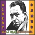 Albert Camus Wall Calendar 2021: The French Philosopher 16 Months Wall Calendar 2021 GLOSSY Cover Image