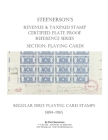 Steenerson's Revenue & Taxpaid Stamp Certified Plate Proof Reference Series - Regular Issue Playing Card Stamps, 1894-1965 Cover Image