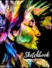Sketchbook-Art sketchbooks - Large Notebook for Drawing - Sketch books for drawing Cover Image