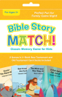 Bible Story Match!: Classic Memory Game for Kids Cover Image