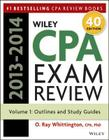 Wiley CPA Exam Review: Outlines and Study Guides, Volume 1 Cover Image