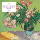 Impressionist Bouquets 2018 Mini Wall Calendar Cover Image