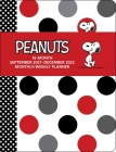 Peanuts 16-Month September 2021-December 2022 Monthly/Weekly Planner Calendar Cover Image