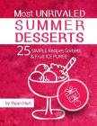 Most unrivaled summer desserts.: 25 simple recipes sorbets and fruit ice puree. Cover Image