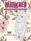 Malbücher für Erwachsene für Frauen Design - Billiger als 10 Euro - Tiere - Hündchen Cover Image