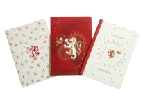 Harry Potter: Gryffindor Constellation Sewn Notebook Collection (Set of 3) (Harry Potter: Constellation) Cover Image