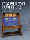 Mackintosh Furniture: Techniques & Shop Drawings for 30 Designs Cover Image