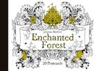 Enchanted Forest Postcards: 20 Postcards Cover Image